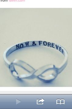 This is so pretty! I would totally want this for my promise ring <3