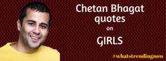 Chetan Bhagat Funny Quotes on Girls