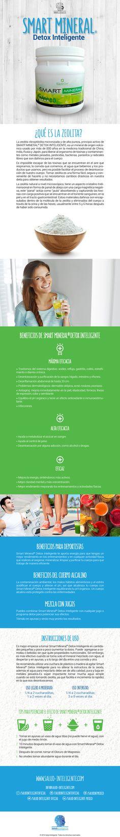 Smart mineral (zeolite), Instrucciones de uso y sus beneficios
