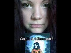 Gothic Art shoutout - Dark Town Sally