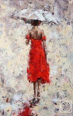 Alexander Gunin / oil, canvas, 55x36cm, 2015.