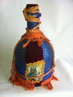 Hoodoo Magick Rootwork:  Haitian Vodou #Voodoo Spirit Bottle No 5 Erzulie Dantor in the Style of Pierrot Barra.