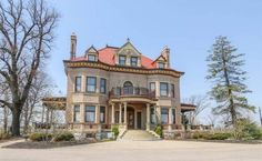 1881 Second Empire For Sale In Bellevue Iowa — Captivating Houses