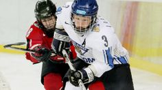 Emma (Laaksonen) Terho - Team Finland - 2014 Winter Olympics - Ohio State alumna.  Laaksonen played for the Ohio State women's ice hockey team from the 2000–01 to 2003–04 seasons. At Ohio State, Laaksonen was the first to earn All-America honors.  Google Search.