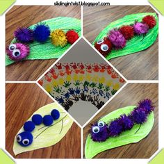 spring caterpillar craft