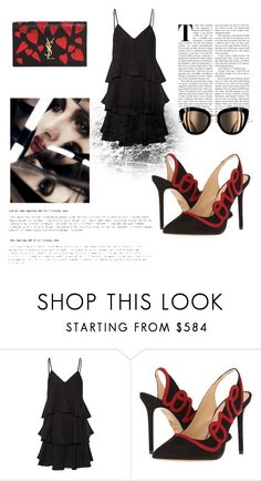 """Nailik"" by paola-kilian ❤ liked on Polyvore featuring Paul & Joe, Charlotte Olympia and Yves Saint Laurent"