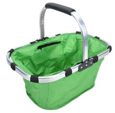 Promotion: Picnic insulated tote basket, Collapsible & Foldable, strong, lightweight,easy to carry, good for fruits,picnic stuff,clothes...