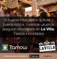 ¡Todo por que hoy es viernes! Les #Recomendamos la mejor rumba de fin de semana en La Villa. #Califiquen este bar con Tamow