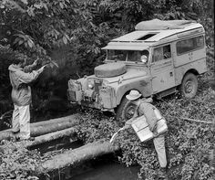 1955 Land Rover 86 Series I