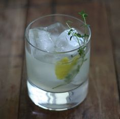 17 Apart: Bee's Knees: Honey Thyme Cocktail Recipe