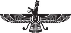 Faravahar, Symbol of Persian Achaemenid Empire and Zoroastrianism - WIKI 2 Ancient Persian, Ancient Art, Farsi Tattoo, Tattoo Symbols, Historical Tattoos, Ahura Mazda, Persian Tattoo, New Year Symbols, God Tattoos