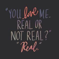 """I tell him, real."" - Hunger Games: Mockingjay"