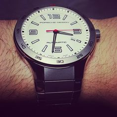 Porsche Design Flat Six Automatic P'6130 #watch