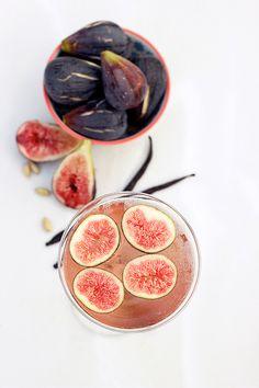 Fig, Vanilla Bean and Cardamom Infused Vodka