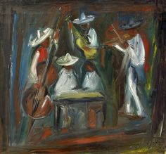 DeGrazia was a talented musician and was continuously surrounded by music. He shared dual passions for art and music as illustrated in these oil paintings. Happy Throwback Thursday! #NationalHistoricDistrict #DeGrazia #Artist #Ettore #Ted #GalleryInTheSun #Tucson #AZ #Catalinas #Desert #PaletteKnife #Musician #Oil #Painting #Mariachis #Night #Club #Band #teddegrazia #galleryinthesun #degrazia #Throwback #Thursday #TBT