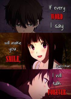 Great inspiration ;) Anime = Hyouka