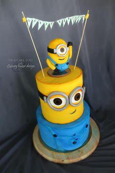 Minion cake by Erandeny Cuevas