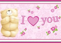 ♥ Forever Friends I ♥ You Card ♥