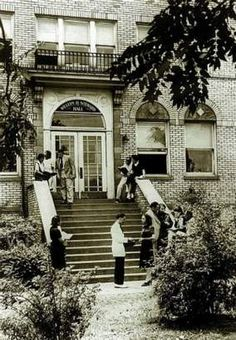 Simmons College (Louisville Municipal College) was the only college for blacks in Louisville until about 1950.
