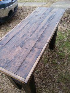 Different pallet furnitures #PalletBench, #PalletTable