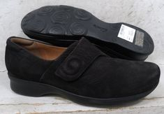 e804d097481 NEW Clarks Womens Aubria Myth Black Leather Loafers Shoes 02190 size 7.5 M