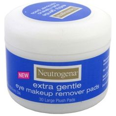 Neutrogena Eye Extra Gentle Makeup Remover Pads 30 Count Jar 6 Pack *** More info could be found at the image url. (This is an affiliate link) Makeup Remover Towel, Homemade Makeup Remover, Best Makeup Remover, Eye Make-up Remover, Make Up Remover, Neutrogena, Everyday Make Up, Remove Makeup From Clothes, Make Up Collection