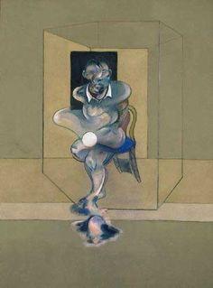 https://flic.kr/p/7p8Lfg | Francis Bacon (Ireland; England, b.1909, d.1992) Study for self-portrait  1976. Art Gallery of New South Wales, Sydney, Australia