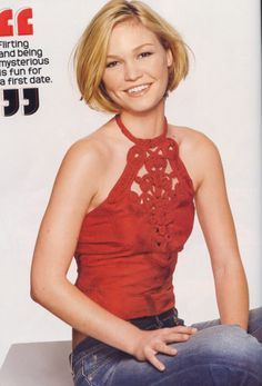 Now that the wedding is done, I think I'll cut my hair like this again! Short Bob Hairstyles, Pretty Hairstyles, Short Haircut, Julia Stiles Hair, Gorgeous Blonde, Cute Cuts, Celebs, Celebrities, Cut And Style