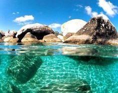 Ванны, Британские Виргинские острова!  Кристиной