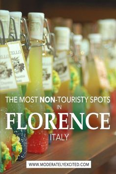 The most NON-touristy places in Florence, Italy to make you feel like a traveler, not a tourist, during your next Italy vacation!