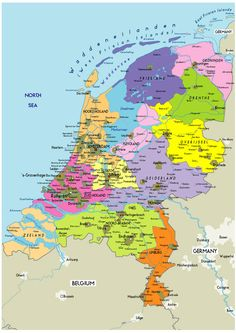 Vintage map of Holland Its free for any use the image is in