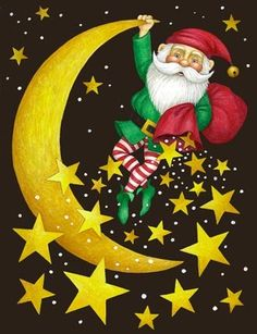 Elf on Moon by Stephanie Stouffer