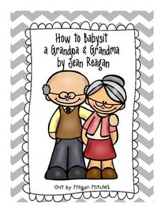I just love these two new stories.  They are perfect for Grandparent's Day.  This packet has extension activities, a Grandparent's day coupon book, songs to sing, and a mini reader's theater.