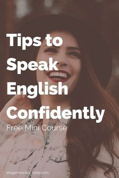 Hate your accent Cant remember vocabulary Scared of making mistakes Understand more English than you can speak These things are all normal In this FREE mini course Tips t. Speak English Fluently, Learn English Grammar, English Idioms, English Language Learning, Learn English Words, English Writing, Teaching English, Advanced English Vocabulary, English Vocabulary Words