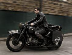 Motorcycle: German WWII BMWR75