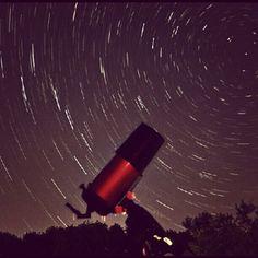 my celestron scope and the night sky.