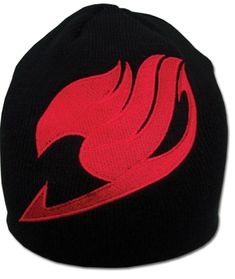 ace toy ko fairy tail: guild logo beanie [headwear] by ge animation - item is new and unopened in original packaging.id: on the series fairy tailmanufactured by ge animation Otaku, Fairy Tail Guild, Black Beanie, Fairy Tail Anime, Anime Merchandise, Anime Figures, Manga, Sword Art Online, Headgear