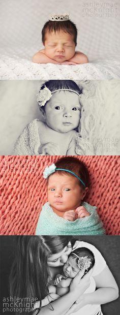 Newborn Baby Girl Photography. Beautiful Reggie Lyn.