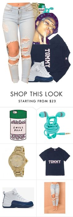 """""""Tommy said """"hey"""" """" by liveitup-167 ❤ liked on Polyvore featuring ban.do and NIKE"""