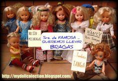 Las niñas se vuelven a manifestar...Nancy de Famosa...