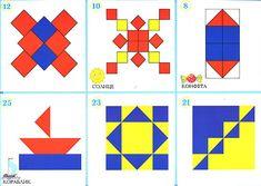 mozaiek voorbeeld om na te leggen