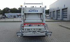 NTM K-MINI 6m3 FUSO CANTER 8,5t NTM K-Midi śmieciarka z tylnym załadunkiem dla firmy REMONDIS, micro garbage truck, kleines Kommunalfahrzeuge, Benne a ordures, Recolectores, piccolo camion