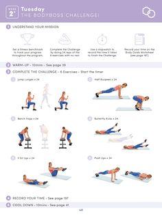 Body Boss Pretraining Week 2 Tuesday Challenge