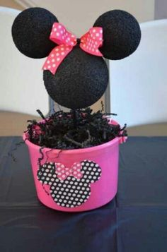 Minnie mouse centerpiece | Parties