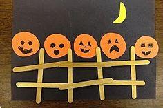 Preschool Crafts for Kids*: Halloween Five Little Pumpkins Preschool Craft Halloween Crafts For Toddlers, Toddler Halloween, Halloween Activities, Toddler Crafts, Preschool Crafts, Halloween Crafts For Kindergarten, Preschool Activities, Halloween Week, Fall Preschool