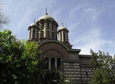 Saint Elefterie church in Bucharest Bucharest, Beautiful Architecture, Empire State Building, Romania, Countries, Heart, Travel, Viajes, Trips