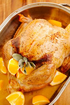 Orange Apricot Turkey