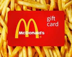 Get free McDonald's Gift Card code and buy anything for free on McDonald's. Mcdonalds Coupons, Free Mcdonalds, Mcdonalds Gift Card, Gift Card Giveaway, Free Coupons, Free Gift Cards, Yummy Treats, Nom Nom, Food And Drink