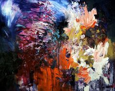 """I See Music Because I Have Synesthesia, So I Decided To Paint What I Hear""  - by Melissa McCracken"