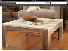 parsons reclaimed russian oak coffee table | coffee tables